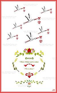 Carte double - Alsace réf 07a