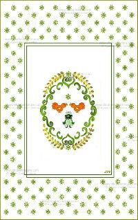 Carte double - Alsace réf 09a