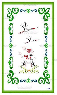 Carte double - Alsace réf 11a