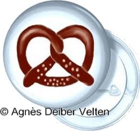 badge brezel